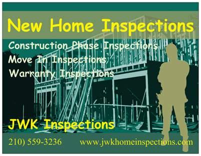 New Home Construction Inspections